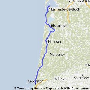 ZB stage 29 ..... Arcachon – Capbreton 21 Sept 2012