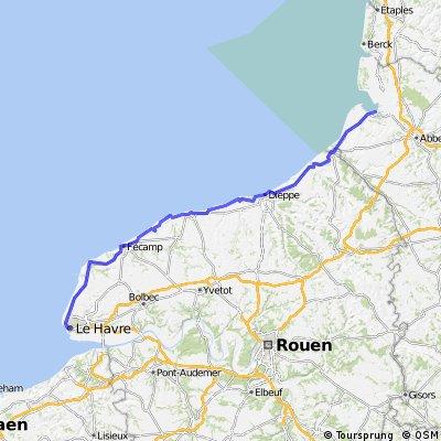 Q stage 17..... Saint-Valery-sur-Somme – Le Havre 7 Sept 2012
