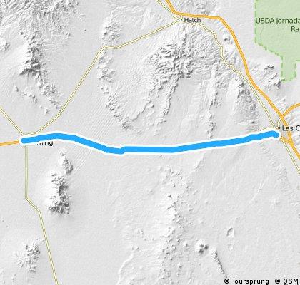 Las Cruces, NM - Deming, NM