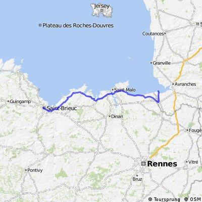U stage 21.....  Le Mont-Saint-Michel – Saint-Brieuc 12 Sept 2012