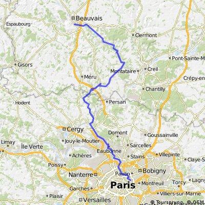 Beauvais Paris retour sept11