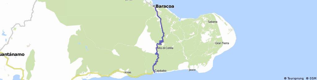KUBA 2011 - Baracoa - Cajobabo 5.7.