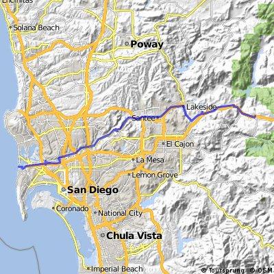 Alpine, CA - San Diego, CA