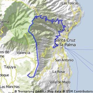 09-02-09 La Palma: Llano del Jable-Cumbre Nueva-Punta de los Roques-Pico de la Nieve-Santa Cruz