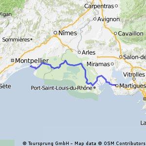 ZL stage 39 ..... La Grand Motte - Martigues 4 Oct 2012