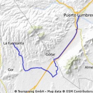 Puerto Lumbreras - La fuensanta