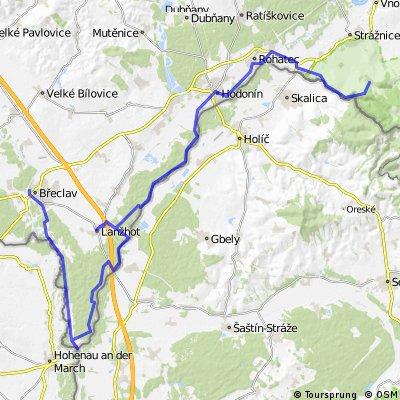 Břeclav - Radějov  - Kolem hranic 08