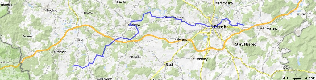 Paneuroparadweg - Sycherak - Ejpovice