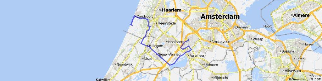 HOLANDSKO 2011 - Zandvoort - Schiphol