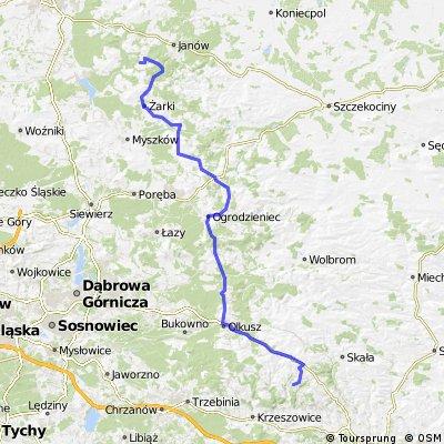 Łazy - Siedlec gm. Janów (Szlak orlich gniazd)