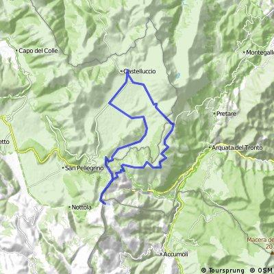 CASTELLUCCIO DI NORCIA (PG) • Forca di Presta - Pantani di Accumoli - Pian Piccolo - Pian Grande