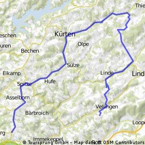 Hohkeppel - Kürten - Moitzfeld (Verlängerung)