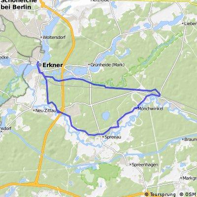 Erkner-->Hangelsberg Rundweg