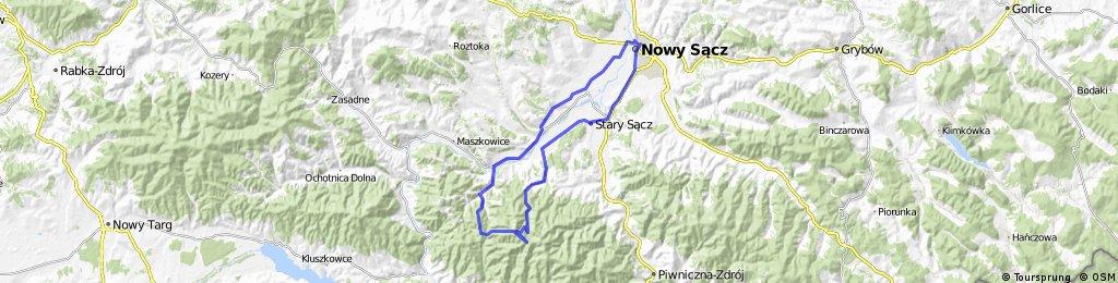 Przełęcz Minkowska i Rokita *** Nowy Sącz - Przehyba - Przełęcz Minkowska - Kuba - Rokita - Bucznik - Obidza - Jazowsko - nowy Sącz