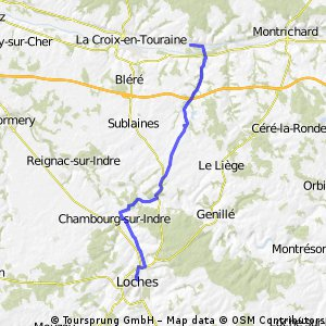 Stage 3. Blois to Loches - 2 Chenonceaux to Loches