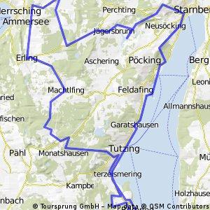 Starnberger See - Andechs - Starnberg