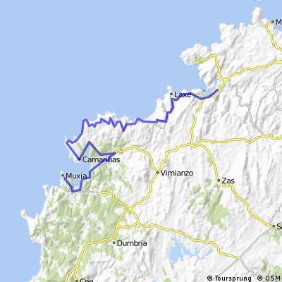 Muxia-Cabo Vilan- Laxe- Neaño