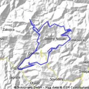Tour De Cerkno Mountains 2011