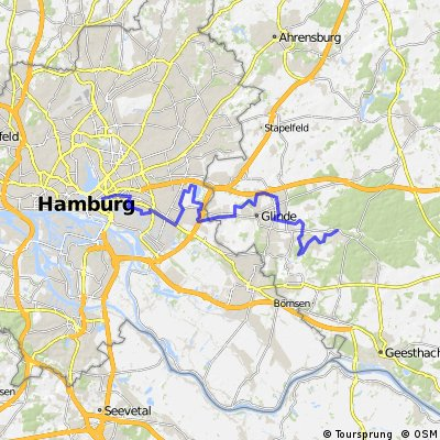 Aumühle - Hamburg-Berliner Tor