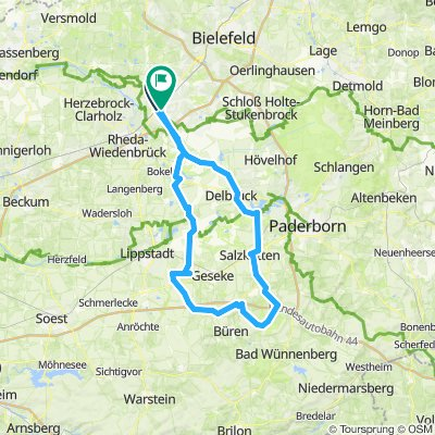 Wewelsburger Runde aus GT CLONED FROM ROUTE 630933
