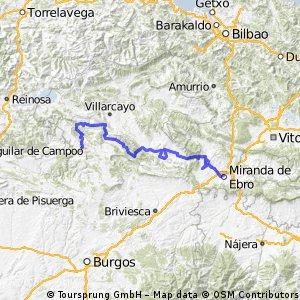 2ª etapa Ebro 2002.