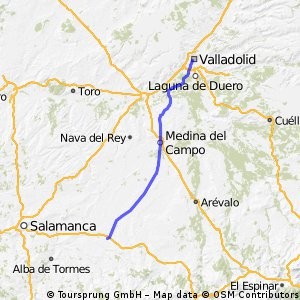 Reto Pamplona - Cadiz, Etapa 2, Sector 1