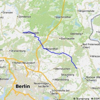Tagestour Prötzel-Liebenwalde