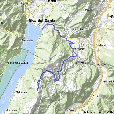 Krásy Dolomit z vrcholku Monte Balda CLONED FROM ROUTE 485946