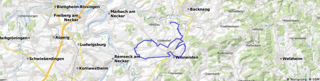 Burgstetten-Erbstetten, Winnenden-Hertmannsweiler, Winnenden, Waiblingen-Bittenfeld, Leutenbach, Burgstetten-Erbstetten