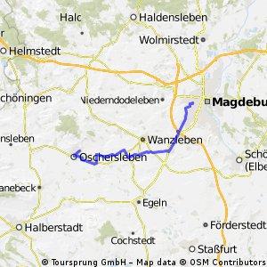Oschersleben-Magdeburg (kurz)