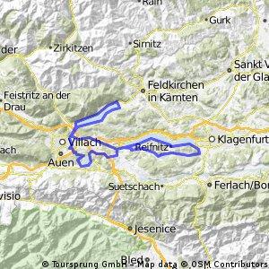 Keutschacher See-Faaker See-Ossiacher See-Wörther See-Keutschacher See