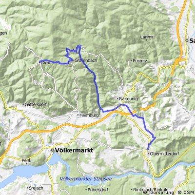 "Strecke X-TEAM Decathlon"" Mountainbike"""