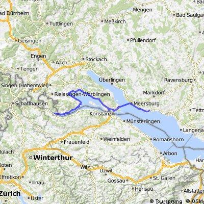 Immenstaad - Stein am Rhein