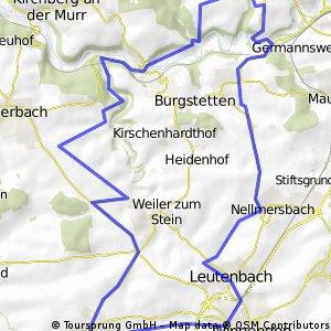 Schwaikheim - Oberschöntal - Schwaikheim