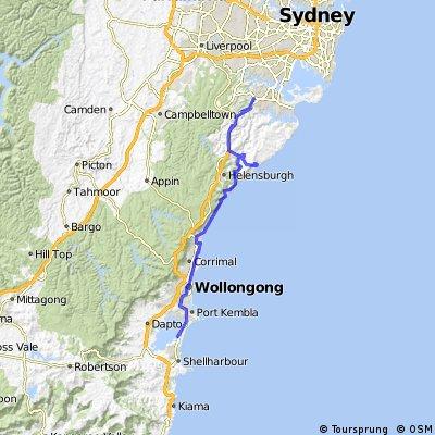 South Coast Route Tag 1