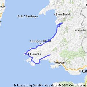 2. Wales Tour Juni 2010