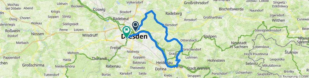 Radtour Heide Elbe