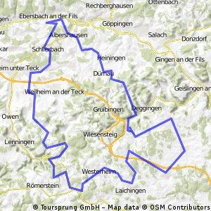 Große Albrunde (Westerheim - Heubach - Donnstetten)