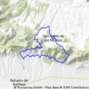 San Pablo de los Montes - Marcha mountain bike 2011