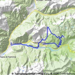 Dolomites - Alpe Lusia ski area