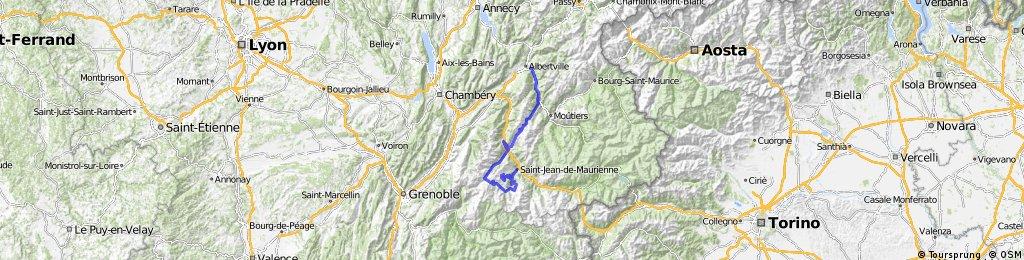 Etappe 11 Tour de France 2012 von Albertville nach La Toussuire-Les Sybelles