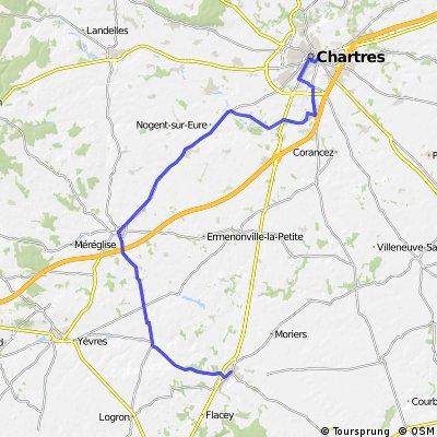 Etappe 19 Tour de France 2012 von Bonneval nach Chartres, EZF
