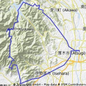 atstugi - col de yabistu - atsugi