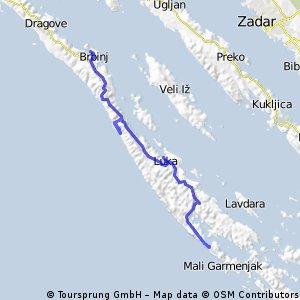 B&B Mittel - Dugi Otok mit Stop in Luka und Höhlenbesichtigung
