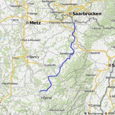 Mainz-Montceau Etappe 2