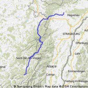 Mainz-Montceau Etappe 7 (retour)