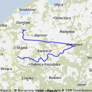 Trasa Wąski i Czujny 14-15 października 2011.