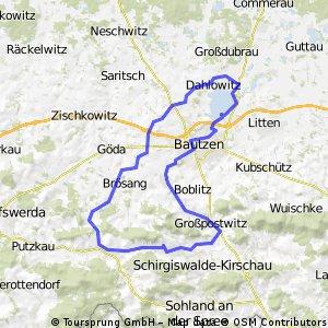 Wilthen-Bautzen-Wilthen V2