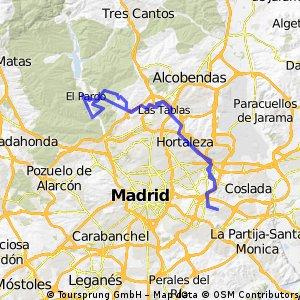 Vicálvaro-Anillo ciclista-El Pardo CLONED FROM ROUTE 1136076