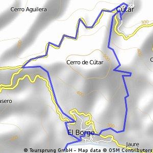 Cútar - El Cerro - El Borge - Cútar